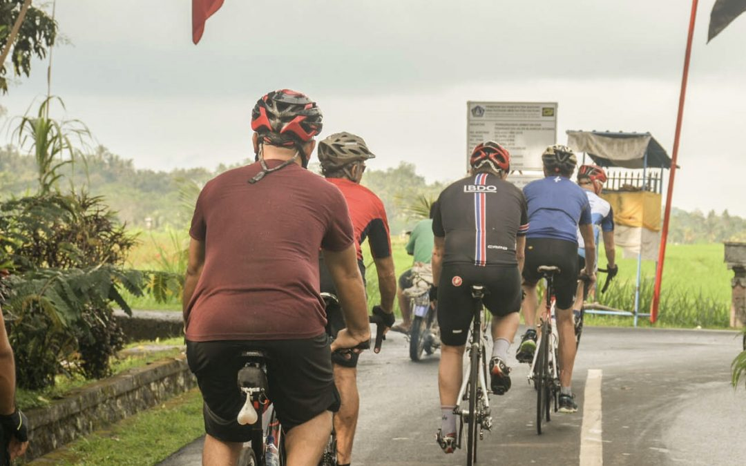 Bicycle is a great way to enjoy the real Bali